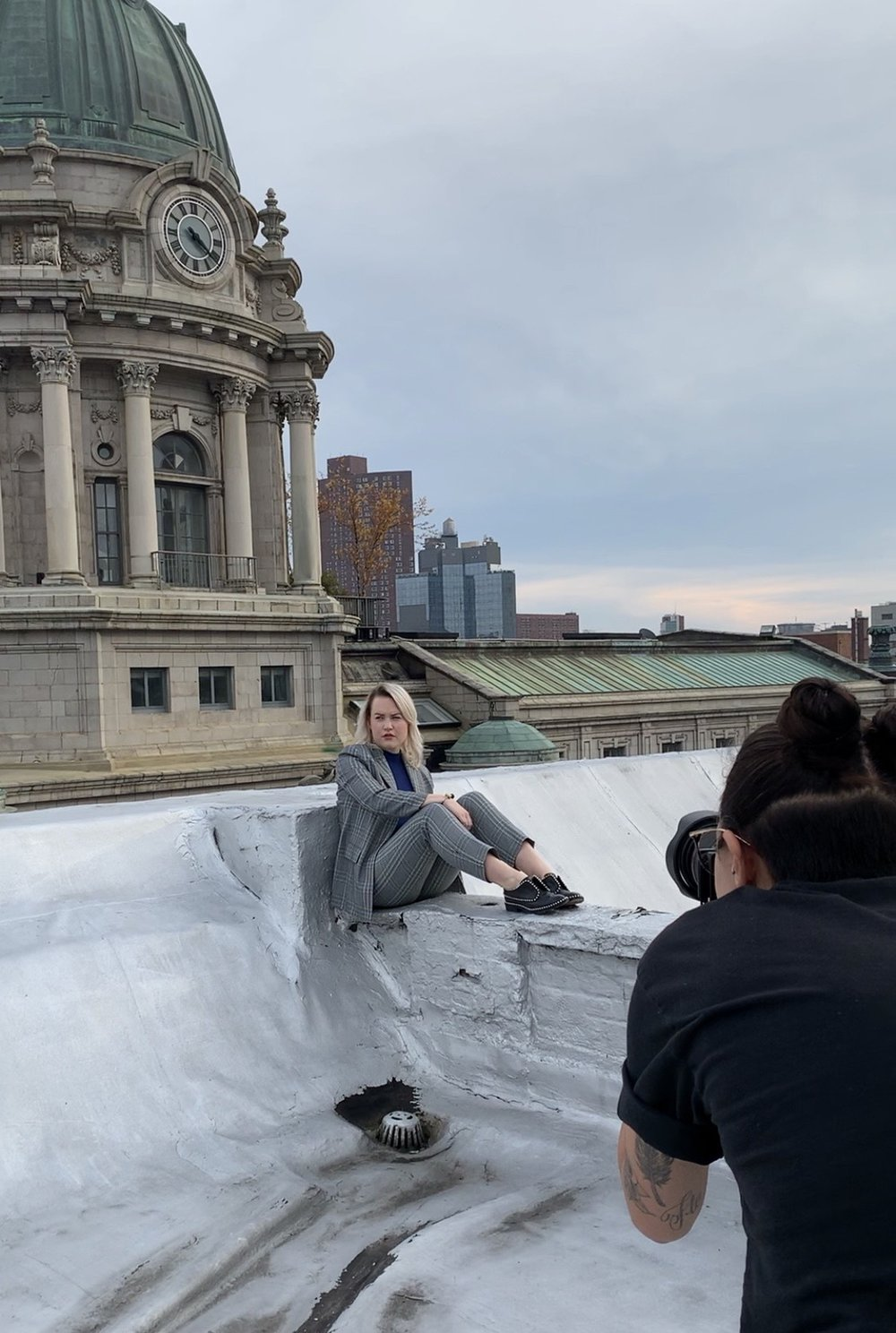 Behind the scenes at Mae's NYT photoshoot