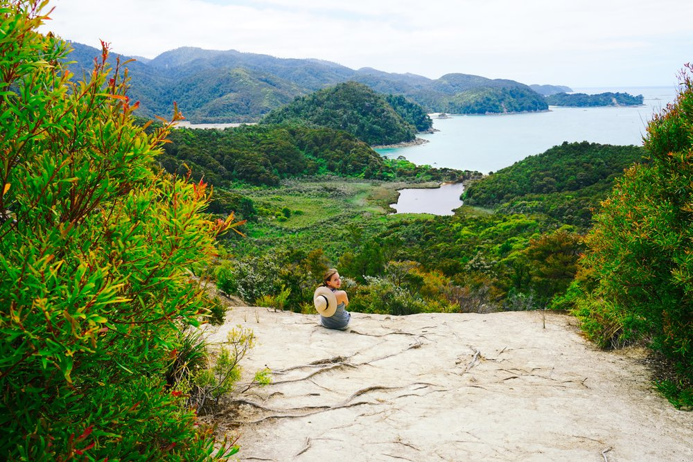 Hiking in Abel Tasman National Park, New Zealand