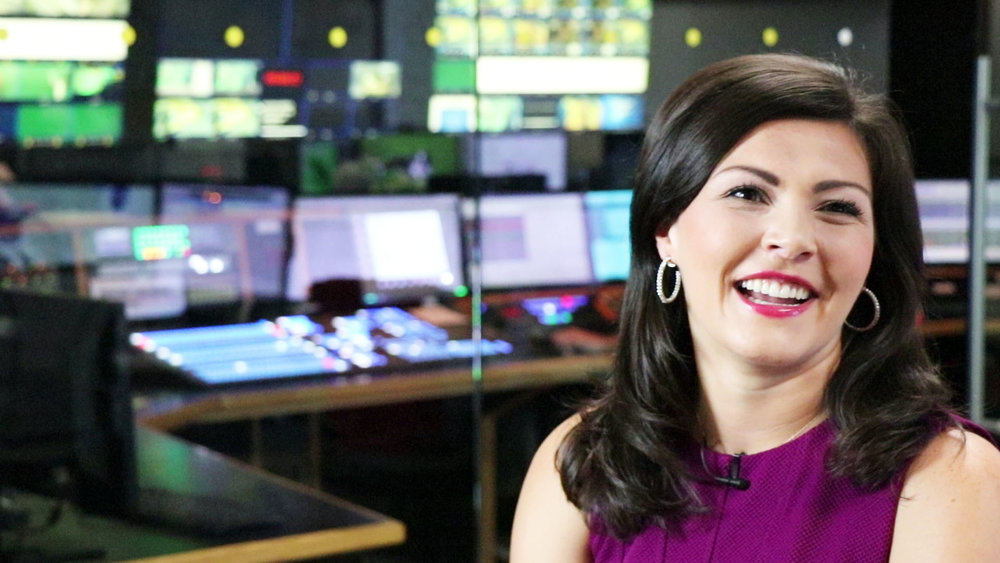 Rachel Schoutsen - You can find Rachel bright and early every morning on the Weather Network's morning show.