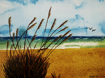 - watercolor by marie dudek brown