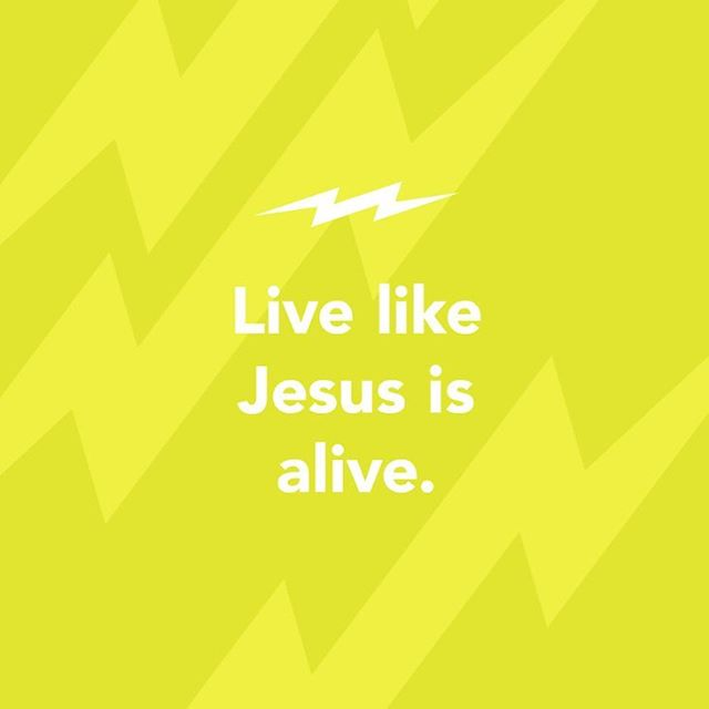 Today our bottom line is about how Jesus is fully alive- just like how we should live!