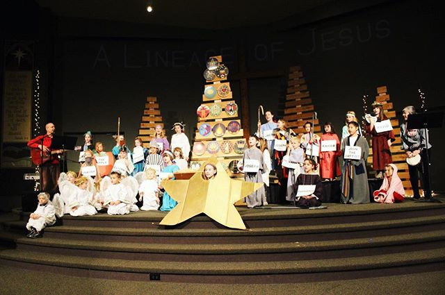 Some photos from today's Christmas program! The kids told the story of the Jesse tree- from Adam and Eve to the birth of Jesus himself! (Plus the Sankta Lucias)