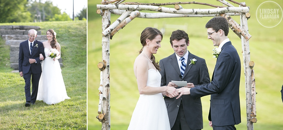 Rustic Barn at Gibbet Hill Wedding in Groton Massachusetts