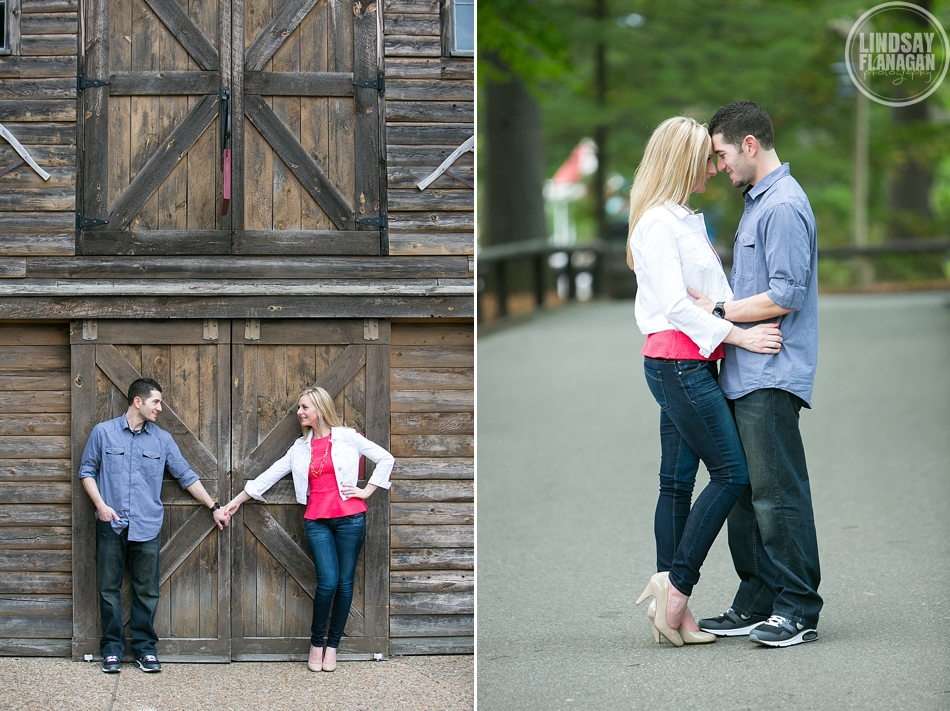 Canobie Lake Park Salem New Hampshire Engagement Session