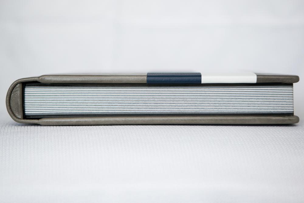 Flush Mount Album Striped Side View
