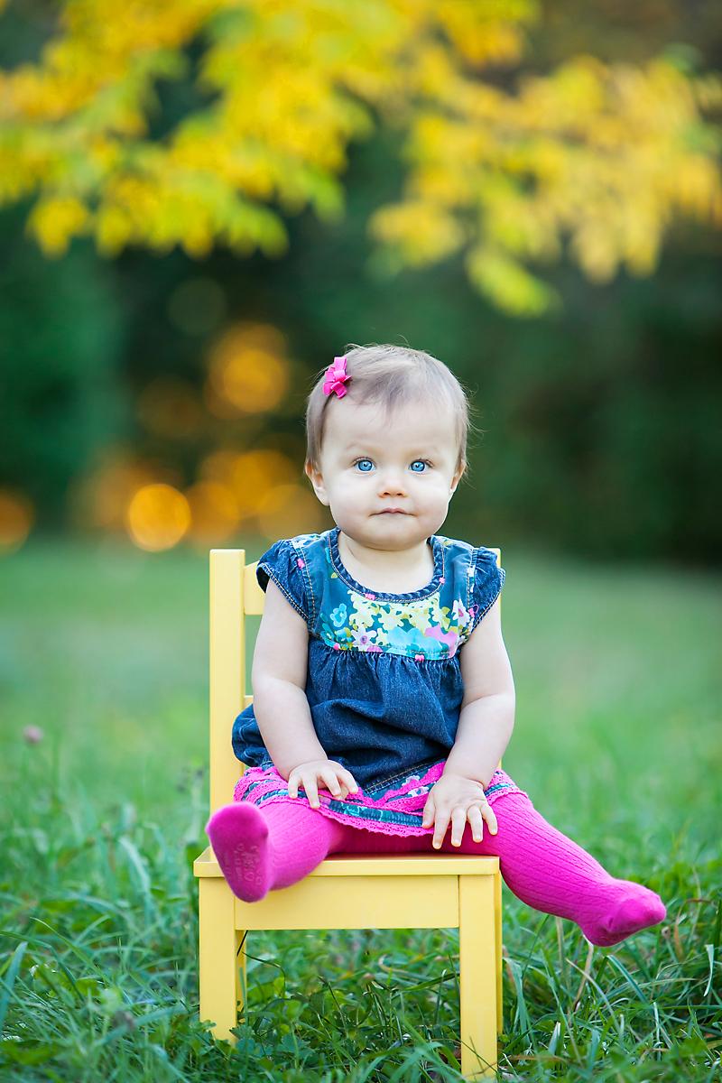 Child Portrait in a Park