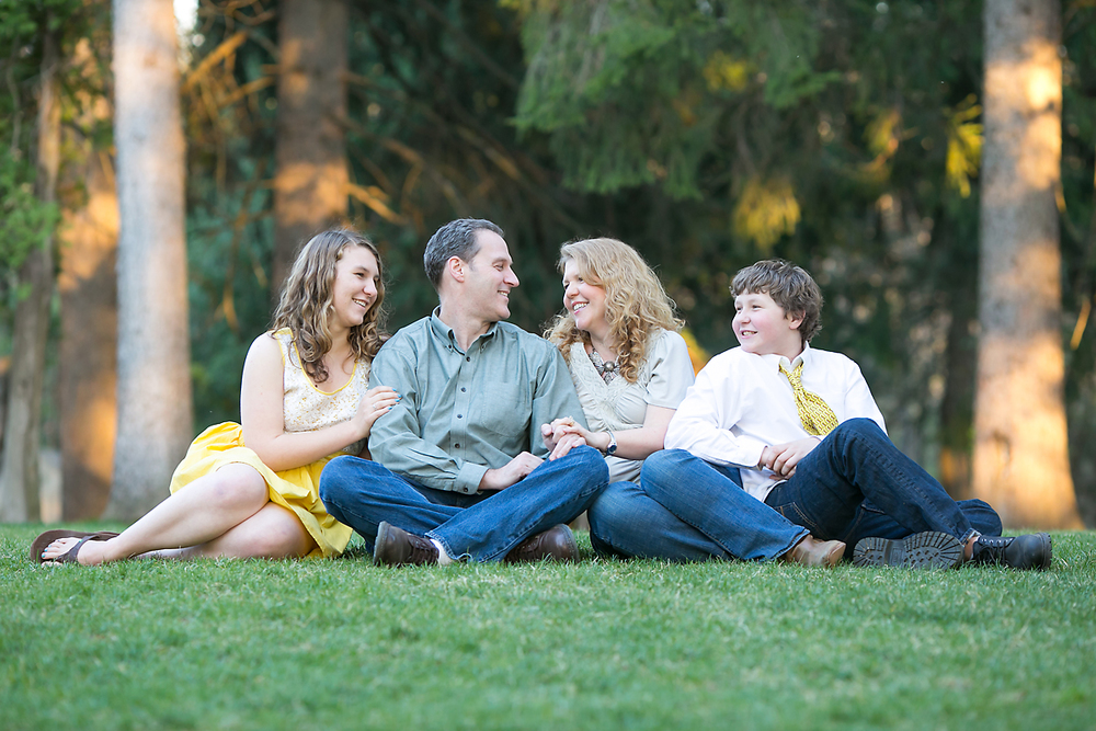 Family Portrait in New Hampshire
