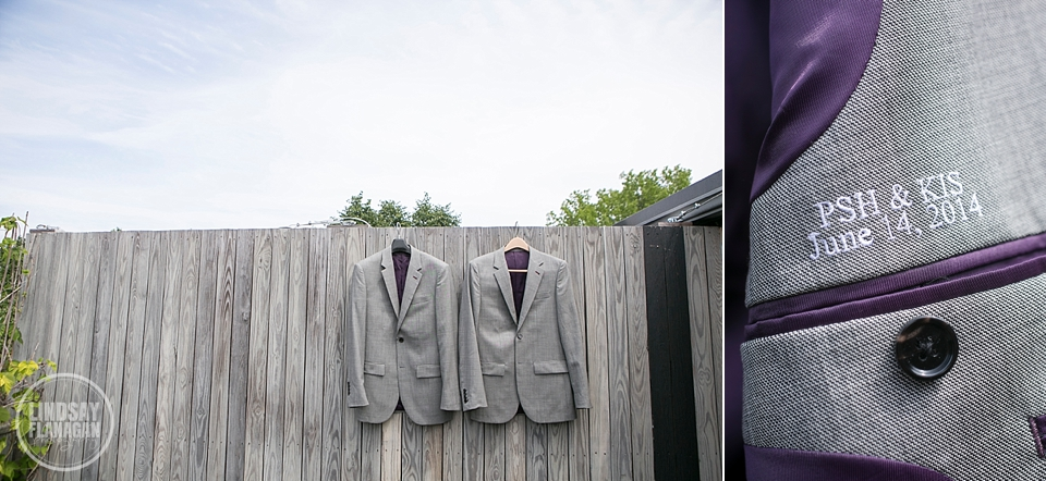 Same Sex Gay Wedding Suit Jackets Detail