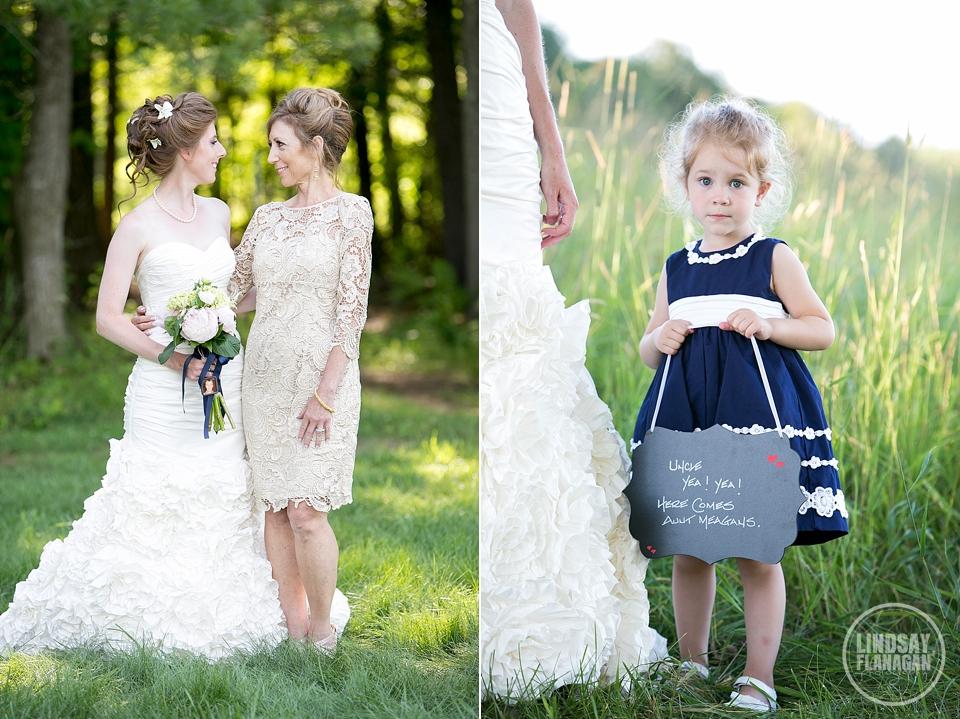 LaBelle Winery Wedding Bride Mom Flower Girl Chalkboard