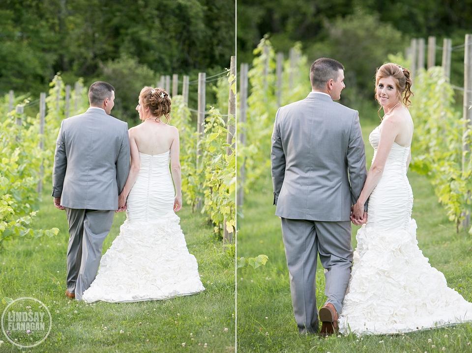 LaBelle Winery Wedding Bride Groom Portrait