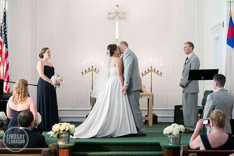 Wolfeboro Inn Wedding Ceremony Church Bride Groom