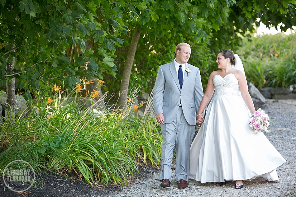 Wolfeboro Inn New Hampshire Wedding Bride and Groom