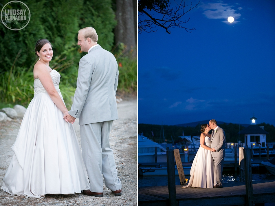 Wolfeboro Inn New Hampshire Wedding Bride Groom