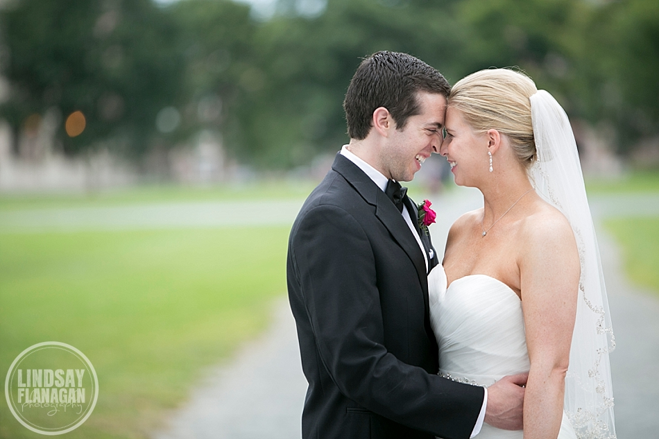 Dartmouth College Hanover New Hampshire Wedding Bride Groom