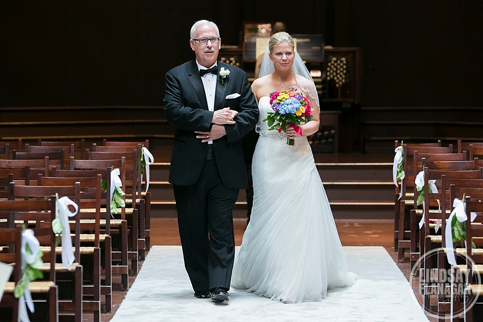 Rollins Chapel Hanover New Hampshire Church Wedding Ceremony Processional