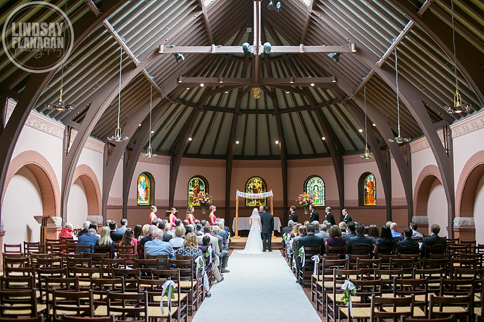 Rollins Chapel Dartmouth College Hanover New Hampshire Wedding Ceremony