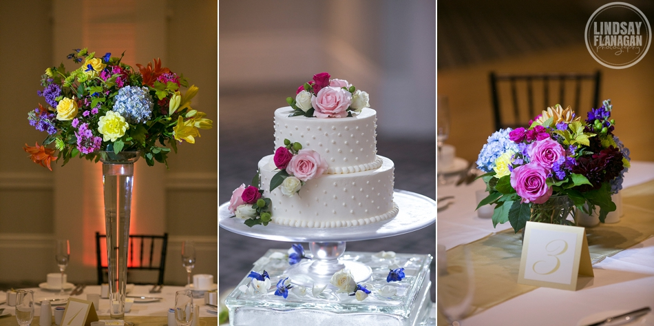 Hanover Inn New Hampshire Wedding Details Centerpiece Cake