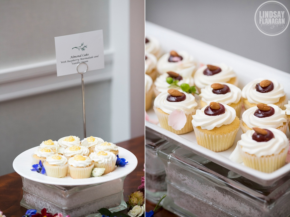 Hanover Inn New Hampshire Wedding Details Dessert Cupcakes