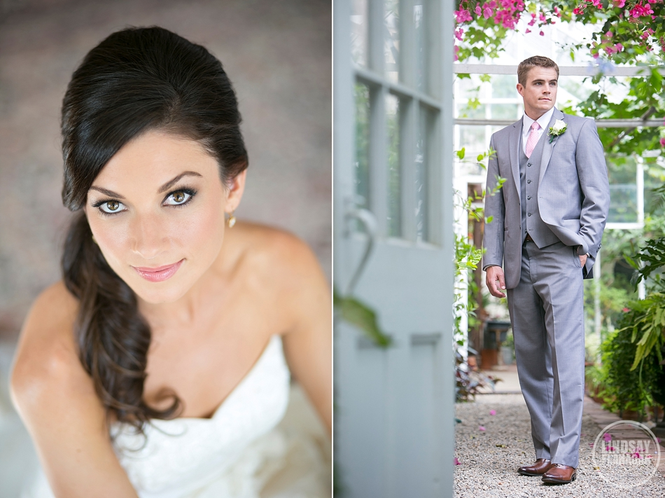 Lyman Estate Massachusetts Wedding Bride Groom Portrait