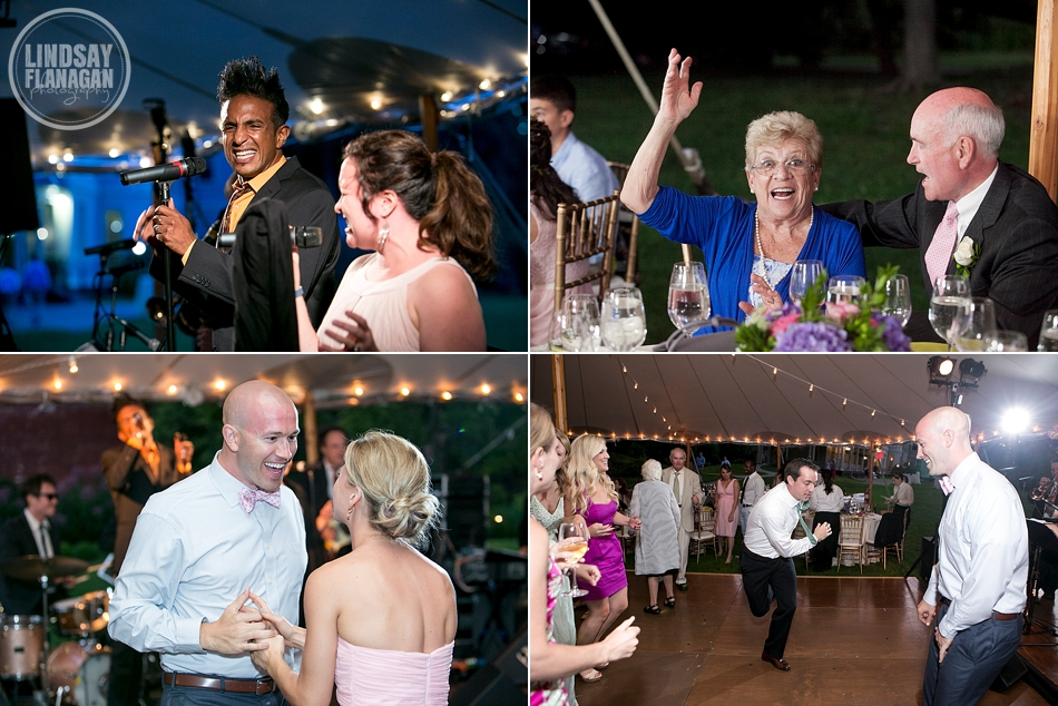 Lyman Estate Wedding Reception Dance Floor