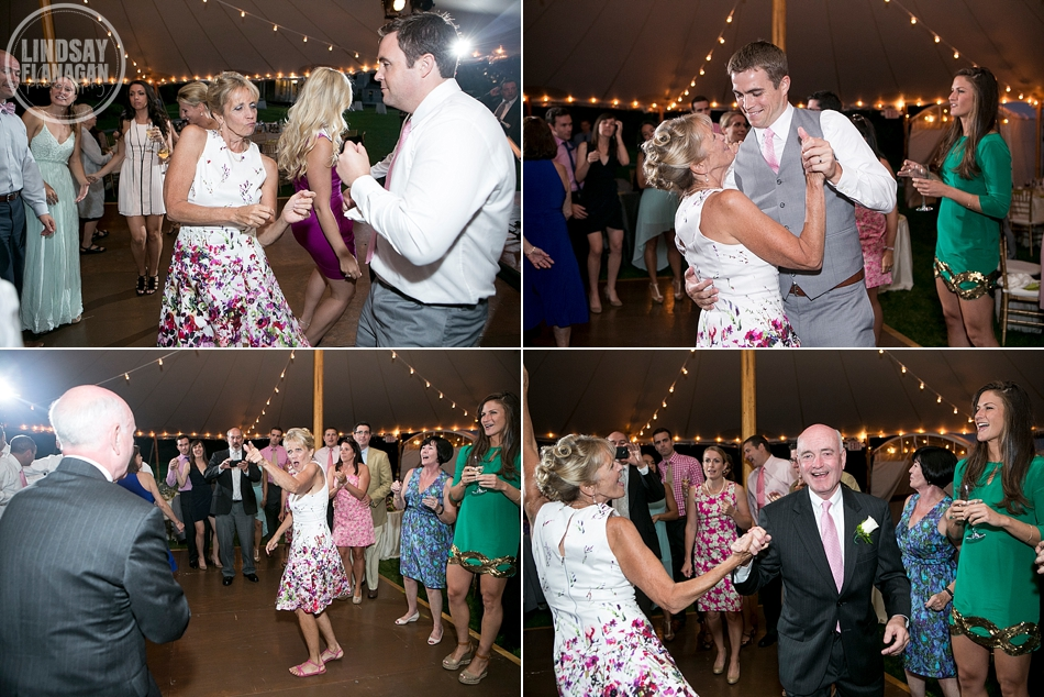 Lyman Estate Massachusetts Wedding Reception Dance Floor