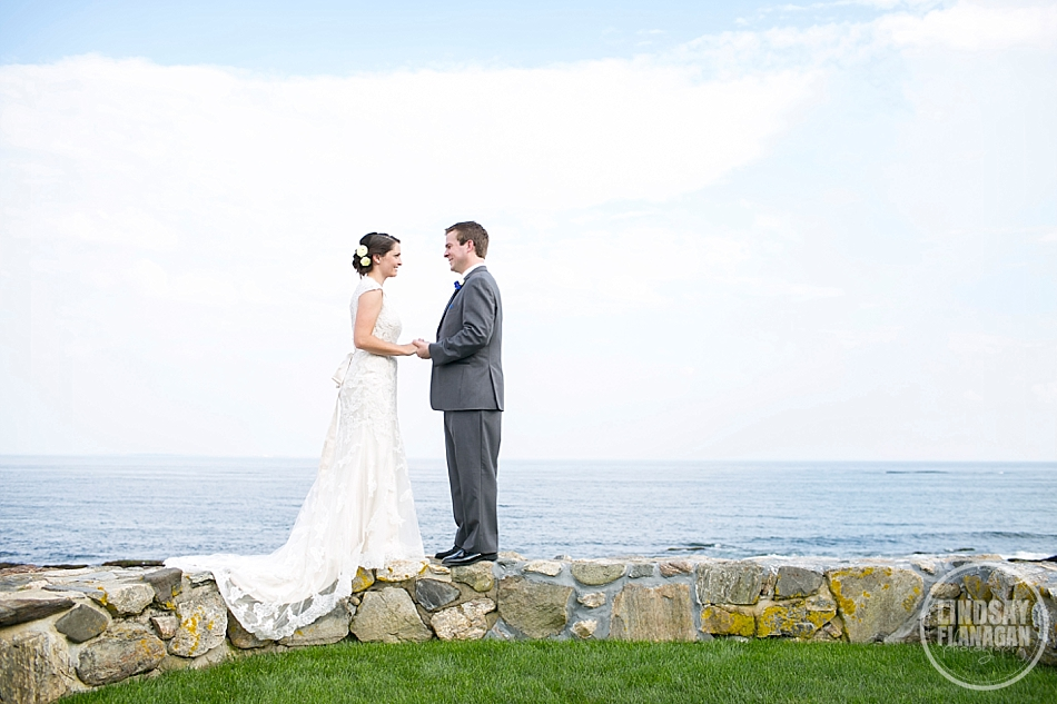 Rye New Hampshire Beach Wedding Photography