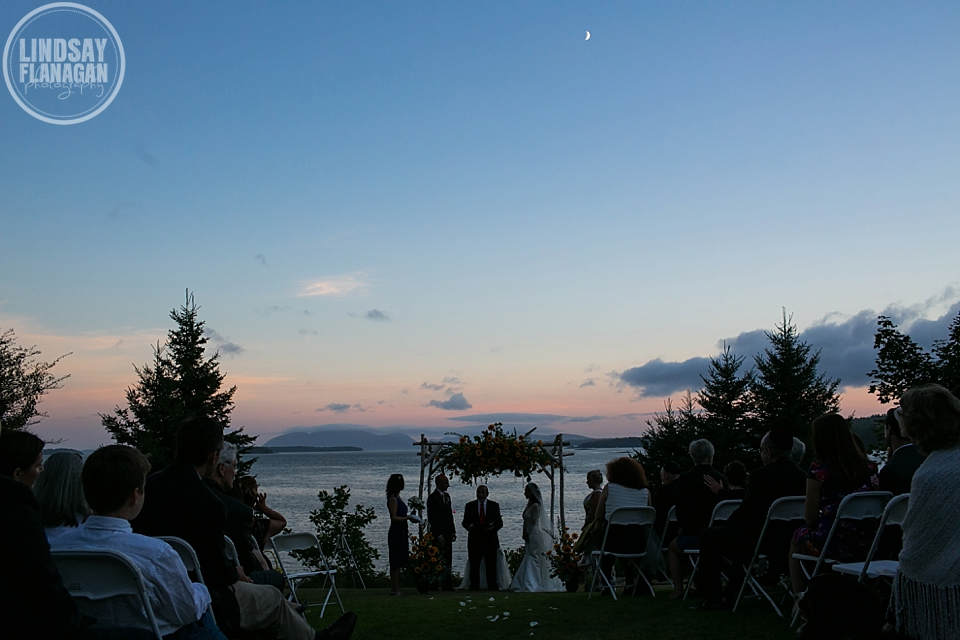 Sullivan Maine Outdoor Romantic Wedding by Lindsay Flanagan Photography | www.lindsayflanagan.com