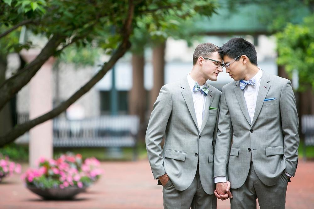 Same sex wedding vermont photography