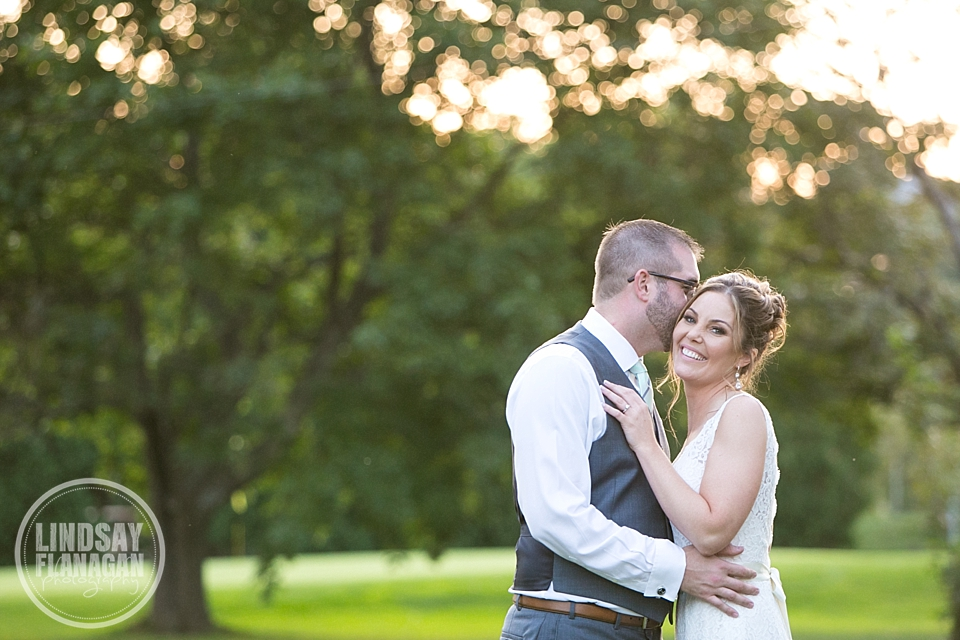 Wentworth Inn Jackson New Hampshire Wedding Bride Groom Portrait