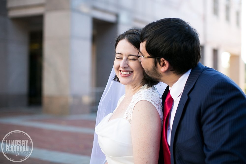 Manchester New Hampshire City Hall Weekday Wedding Fall