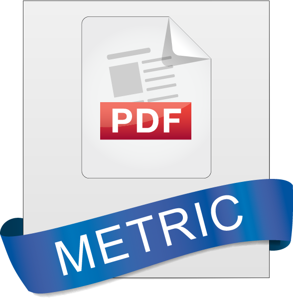 For metric specifications, download this PDF.