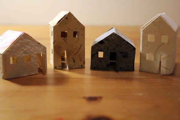 handmade paper homes