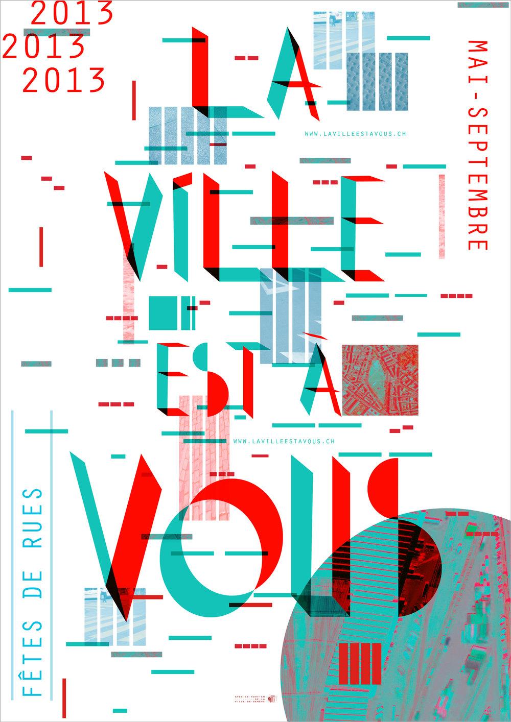 LA VILLE EST À VOUS Poster - Geneva