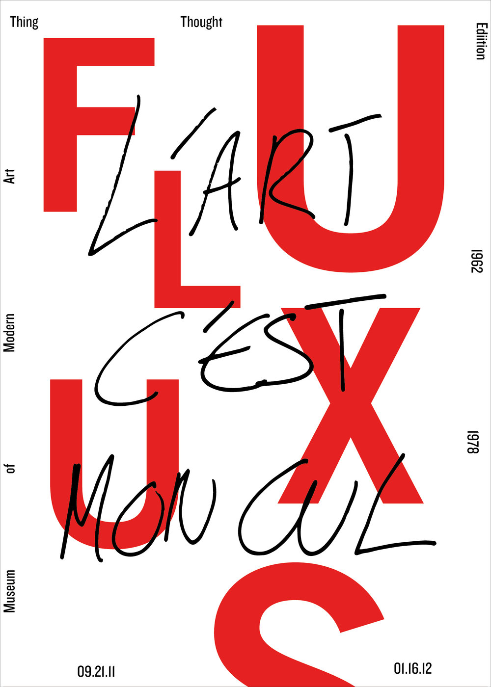 FLUXUS Poster - New York