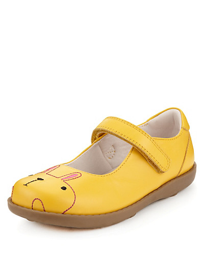 Children's Leather Rabbit Riptape shoes from Marks & Spencer (click on the image to be taken to the purchasing page).