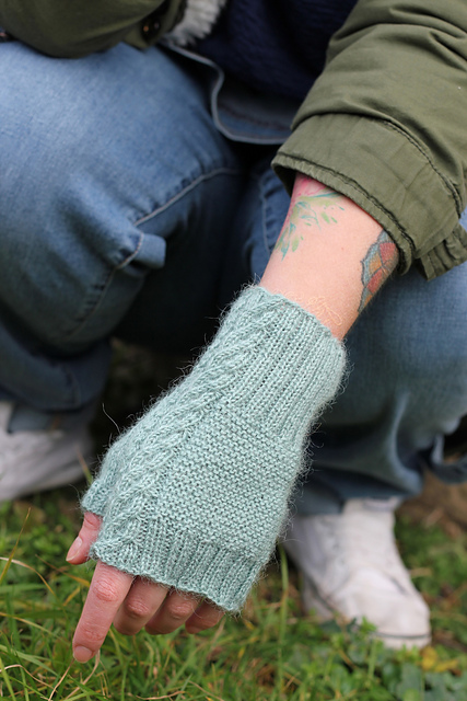 Carthorpe mittens from Coop Knits Toasty volume 1 Image © Coop Knits