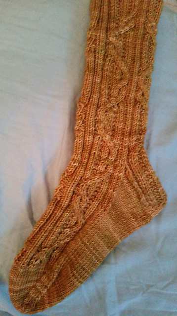 Delbert knitted by StatenIslandSusan - click the photo to see her Ravelry project page.