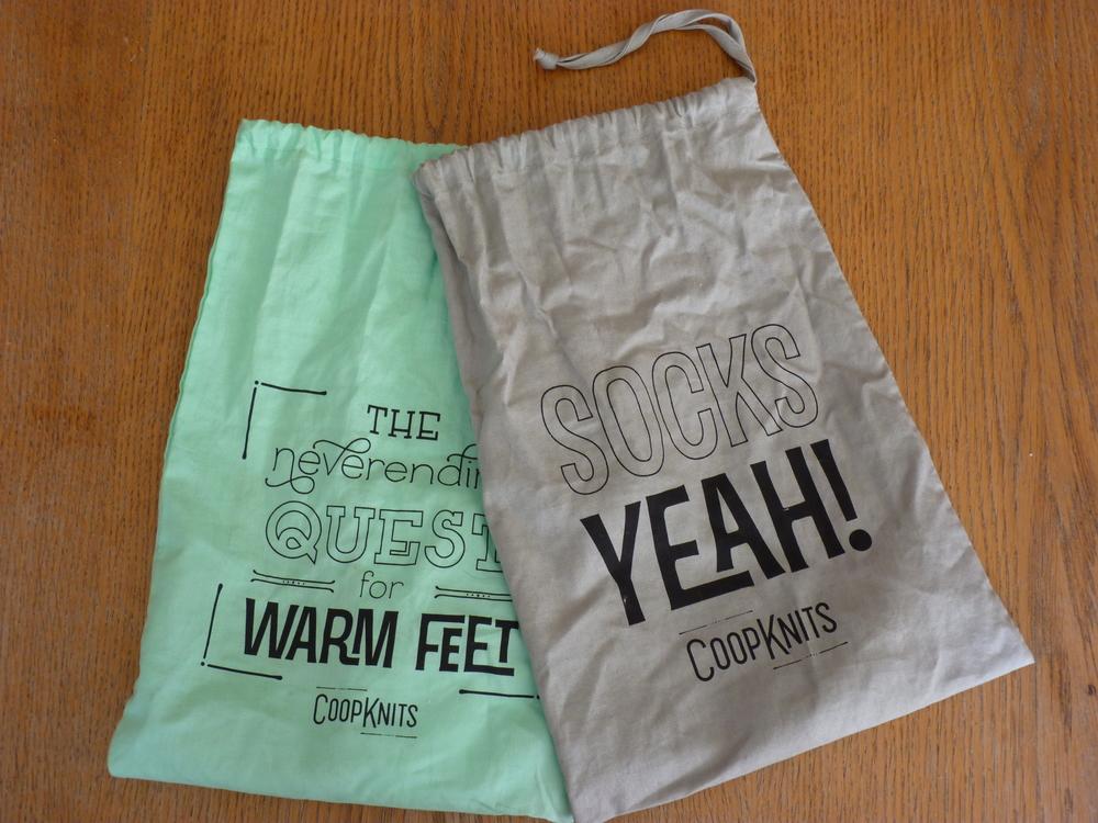Coop Knits Sock Bags
