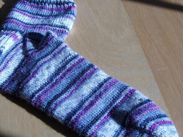 Jen's first sock