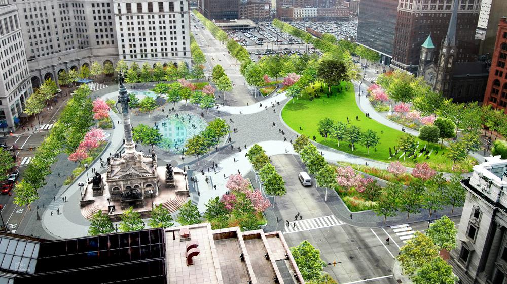 Public Square Revitalized Photo: James Corner Field Operations