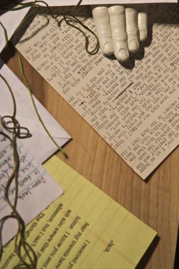 Love Letters (Hazel B Jackson Installation)