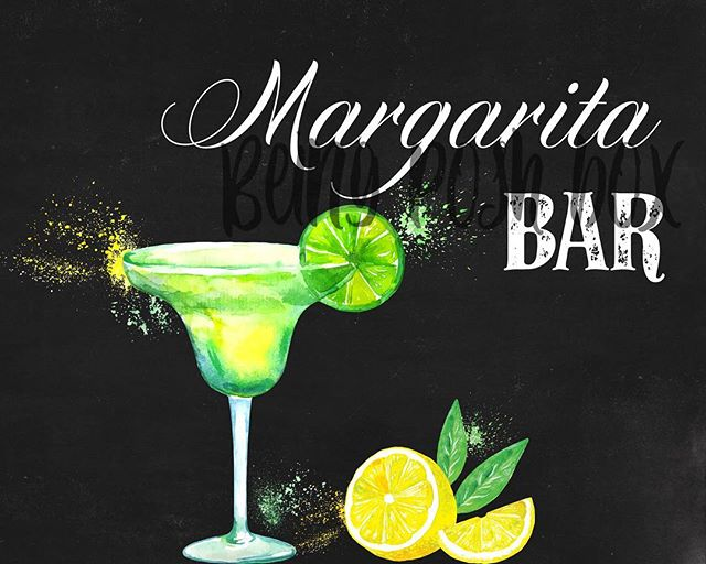 Excited to share the latest addition to my #etsy shop: Margarita Bar Sign- Black (Horizontal) #papergoods #black #white #printable #foodbar #party #wedding #8x10 #sign https://etsy.me/2I58pMV