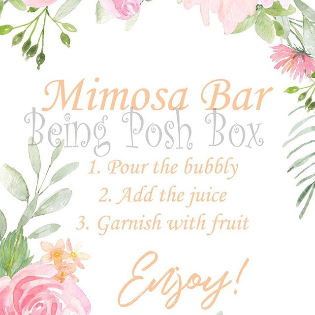 Excited to share the latest addition to my #etsy shop: Pink Floral with Peach Writing Mimosa Sign #papergoods #printable #foodbar #party #wedding #8x10 #sign #cardstock #printed https://etsy.me/2pGnn5m