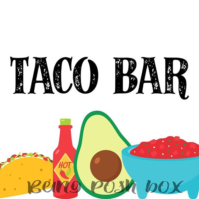 Excited to share the latest addition to my #etsy shop: Taco Bar Sign- White with icons #papergoods #white #black #printable #foodbar #party #wedding #8x10 #sign https://etsy.me/2pFK6OO
