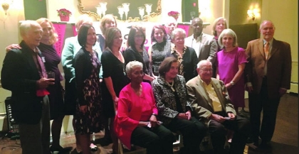 CHSSF Trustees attend the Cocktail Fundraiser at the Maplewood Club