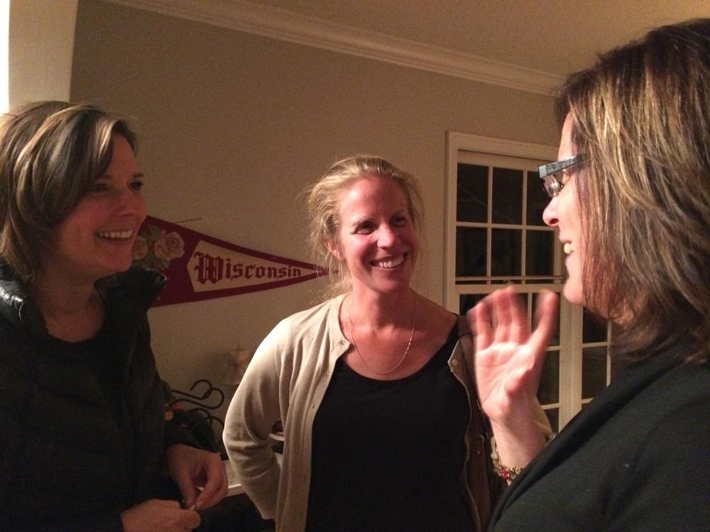 Southwest parents celebrate at the party for 9th grade parents