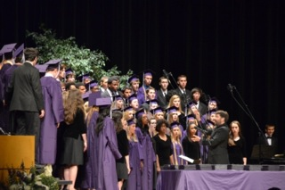 2014 Southwest graduates at graduation