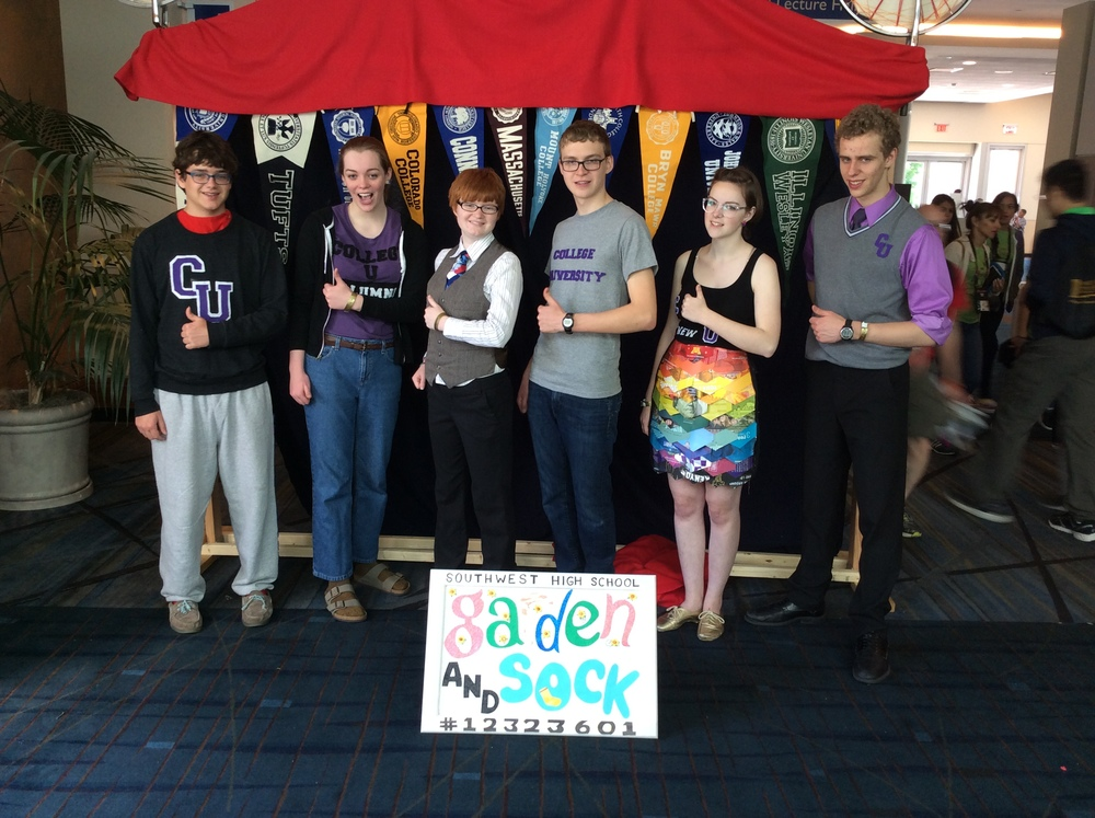 2015 Destination Imagination Team in Knoxville, Tennessee