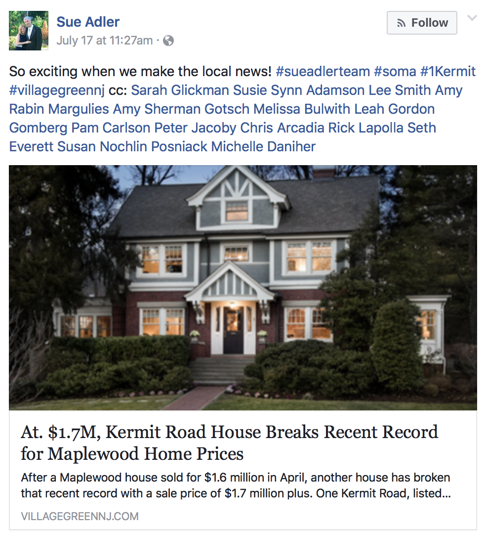 At. $1.7M, Kermit Road House Breaks Recent Record For Maplewood Home  Prices. Staged By SWEETLIFE BY DESIGN!