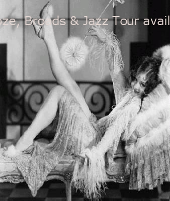 Resumes Nov 2016!  Booze, Broads & Jazz Tour